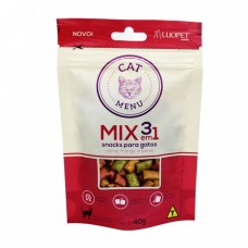 Petisco Luopet Cat Menu Mix 40g