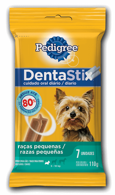 Petisco Pedigree DentaStix - 7un