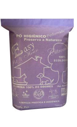 Pó Higiênico Perfumado Easy Pet & house - Citronela - 1 kg