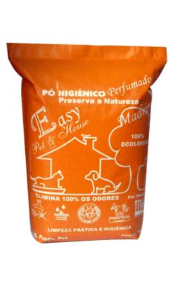 Pó Higiênico Perfumado Easy Pet & house - Madeirado - 1 kg