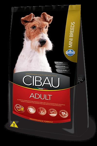Ração Cibau Adult Mini Breeds para cães adultos de porte pequeno