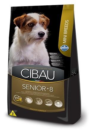 Ração Cibau Sênior Mini para cães adultos - acima de 8 anos - de pequeno porte - 3 kg