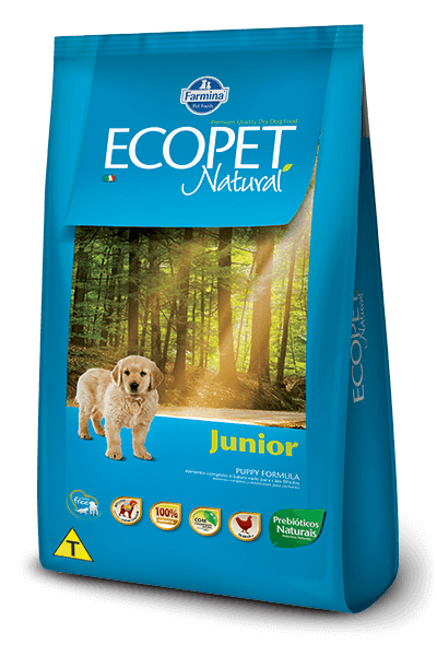 Ração Ecopet Natural Junior