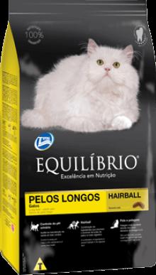 Ração Equilíbrio Gatos Adultos Pelos Longos 7,5 kg