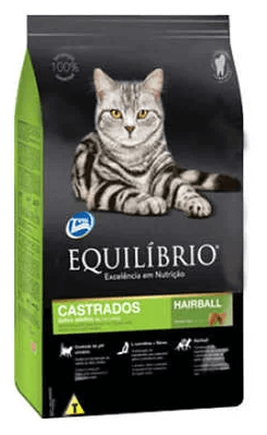 Ração Equilíbrio Gatos Castrados - Adultos 1 a 7 anos - 7,5 kg