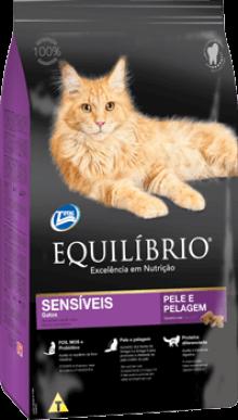 Ração Equilíbrio Gatos Sensíveis 7,5 kg