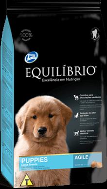 Ração Equilíbrio Raças Grandes e Gigantes - Cães Filhotes 15kg