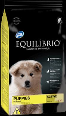 Ração Equilíbrio Raças Médias - Cães Filhotes 15kg