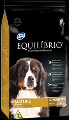 Ração Equilíbrio Raças Médias e Grandes - Cães Mature - 15 kg