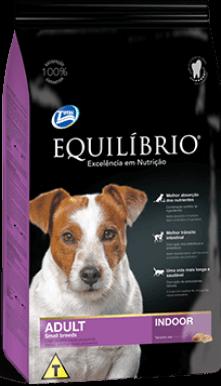 Ração Equilíbrio Raças Pequenas Indoor - Cães Adultos 7,5 kg