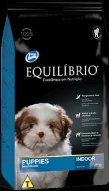 Ração Equilíbrio Raças Pequenas Indoor - Cães Filhotes 7,5 kg