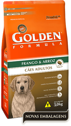 Ração Golden Fórmula Adultos Frango & Arroz