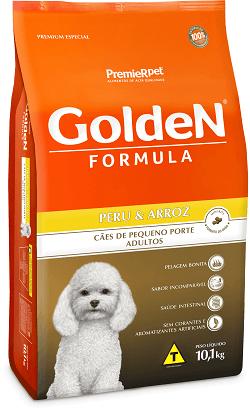Ração Golden Adultos Peru & Arroz Pequeno Porte
