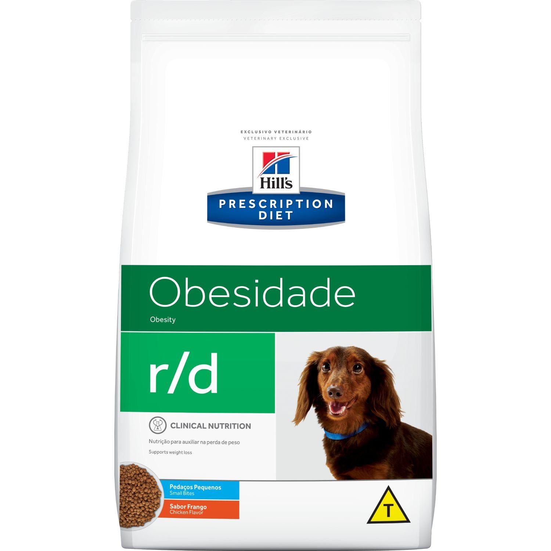 Ração Hill's r/d Obesidade Pedaços Pequenos - Cães Adultos Pequeno Porte