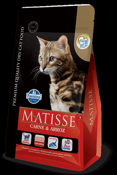 Ração Matisse Gatos Adultos Carne