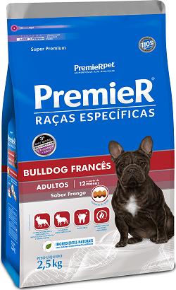Ração Premier Bulldog Francês Cães Adultos
