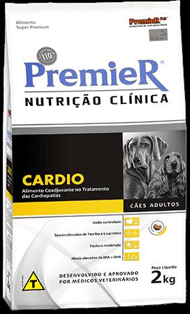Ração Premier Nutrição Clínica Cardio - doença/insuficiência cardíaca - Cães