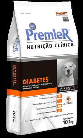Ração Premier Nutrição Clínica Diabetes para Cães de Médio e Grande Porte - 10,1 kg