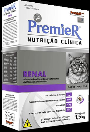 Ração Premier Nutrição Clínica Gatos Renal - 1,5kg
