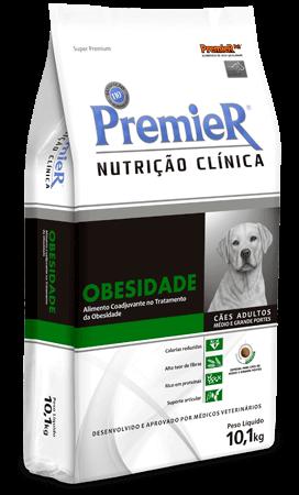 Ração Premier Nutrição Clínica Obesidade Cães Médio e Grande Porte - 10,1 kg