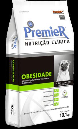 Ração Premier Nutrição Clínica Obesidade Cães Pequeno Porte
