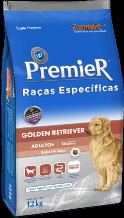 Ração Premier Golden Retriever Cães Adultos - 12 kg