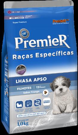 Ração Premier Lhasa Apso Cães Filhotes 2,5 kg