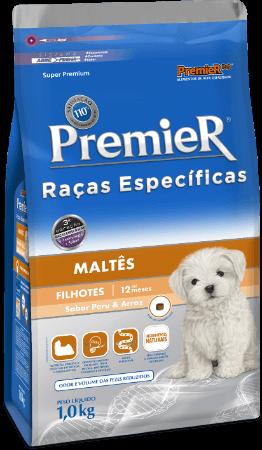 Ração Premier Maltês Cães Filhotes 2,5 kg