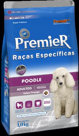 Ração Premier Poodle Cães Adultos - 7,5 kg