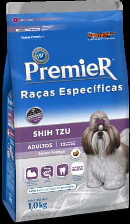 Ração Premier Shih Tzu Cães Adultos - Sabor Frango