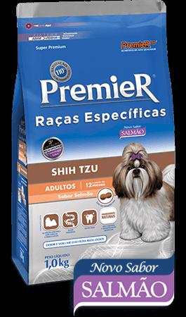 Ração Premier Raças Específicas Shih Tzu Cães Adultos - Sabor Salmão