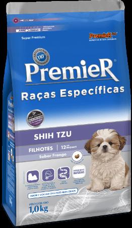 Ração Premier Shih Tzu Cães Filhotes 2,5kg