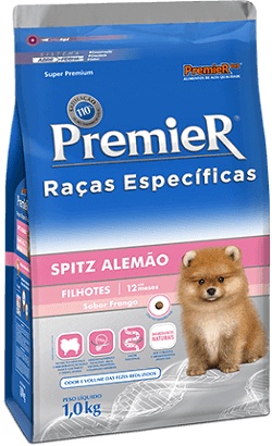 Ração Premier Spitz Alemão Filhotes 2,5 kg