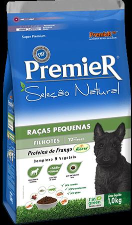 Ração Premier Seleção Natural Cães Filhotes Raças Pequenas Sabor Frango 2,5 kg