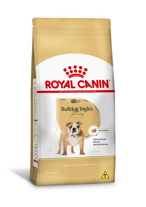 Ração Royal Canin Bulldog Inglês - para cão adulto - 12kg