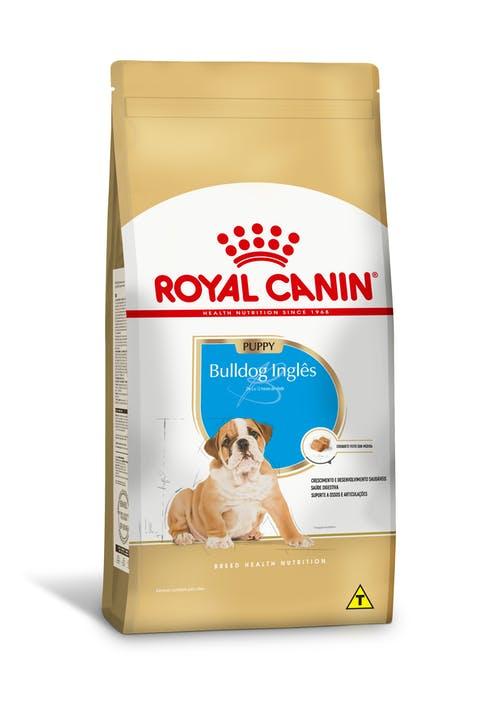 Ração Royal Canin Bulldog Inglês Puppy - para cão filhote - 12kg