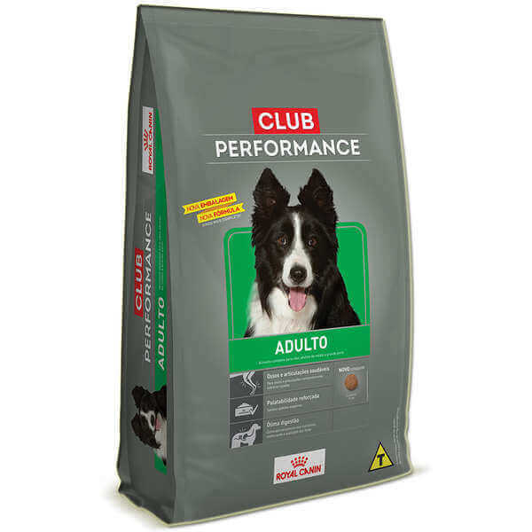Ração Royal Canin Club Performance para cão adulto - 15kg