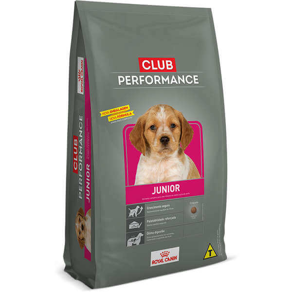 Ração Royal Canin Club Performance para cão filhote - 15kg