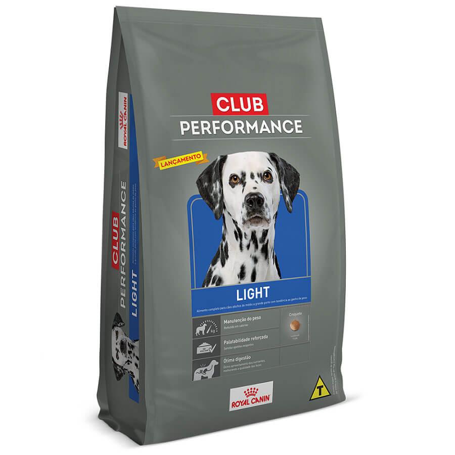 Ração Royal Canin Club Performance Light para cão com sobrepeso- 15kg