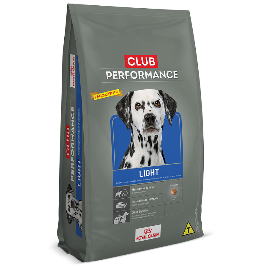 Ração Royal Canin Club Performance Light 15kg