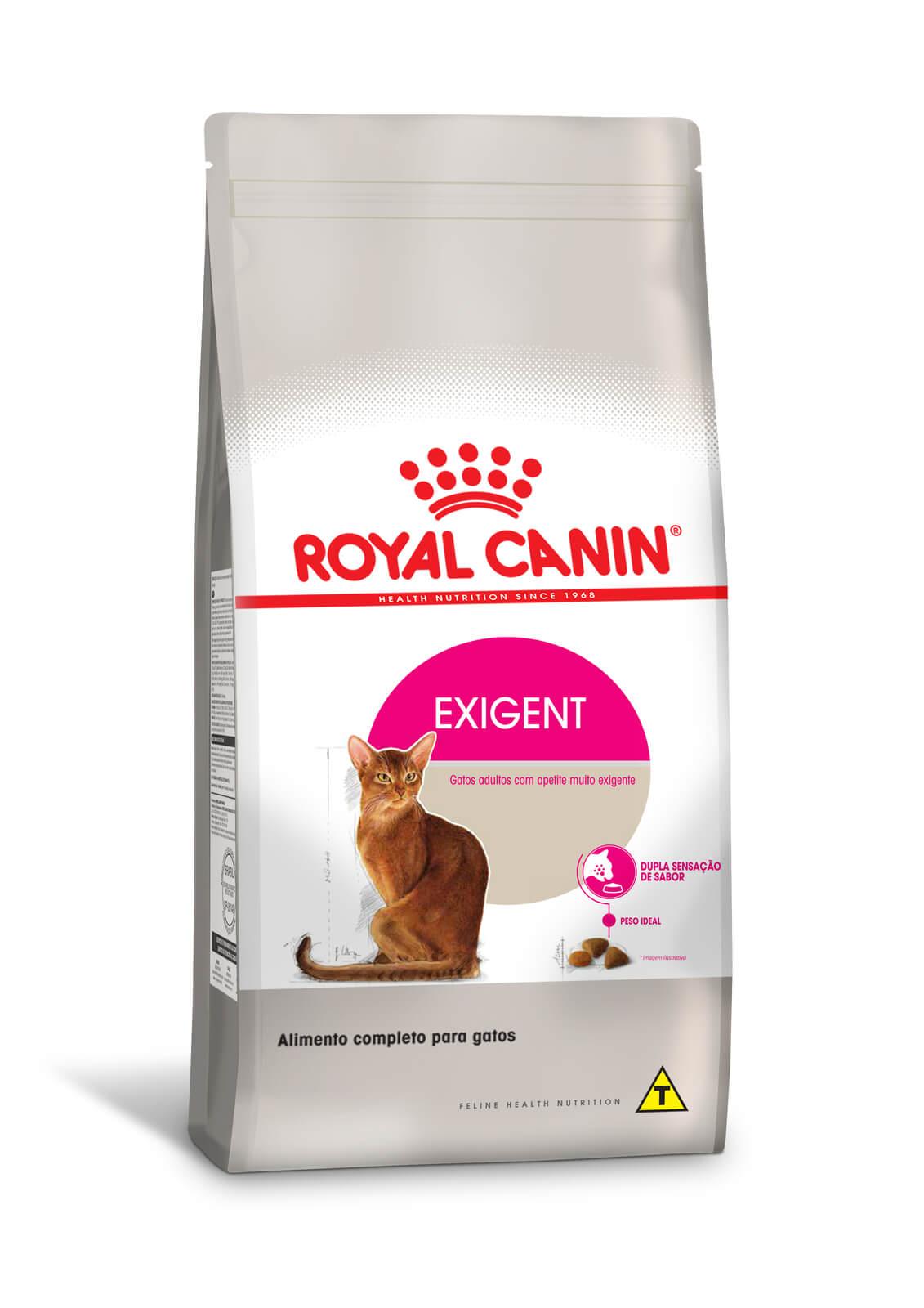 Ração Royal Canin Exigent - Gatos Exigentes