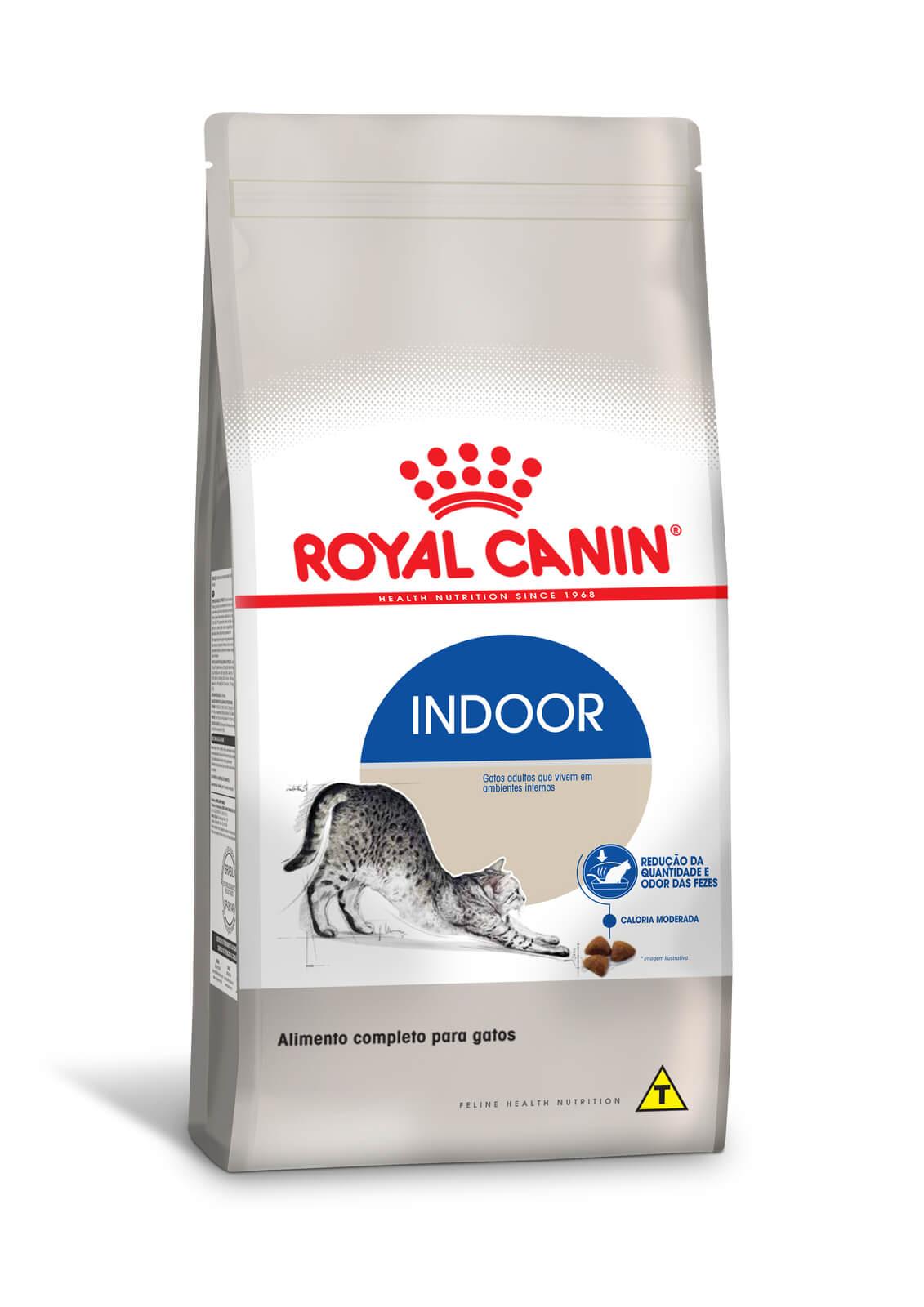 Ração Royal Canin Indoor - Gatos Adultos - 1,5 kg
