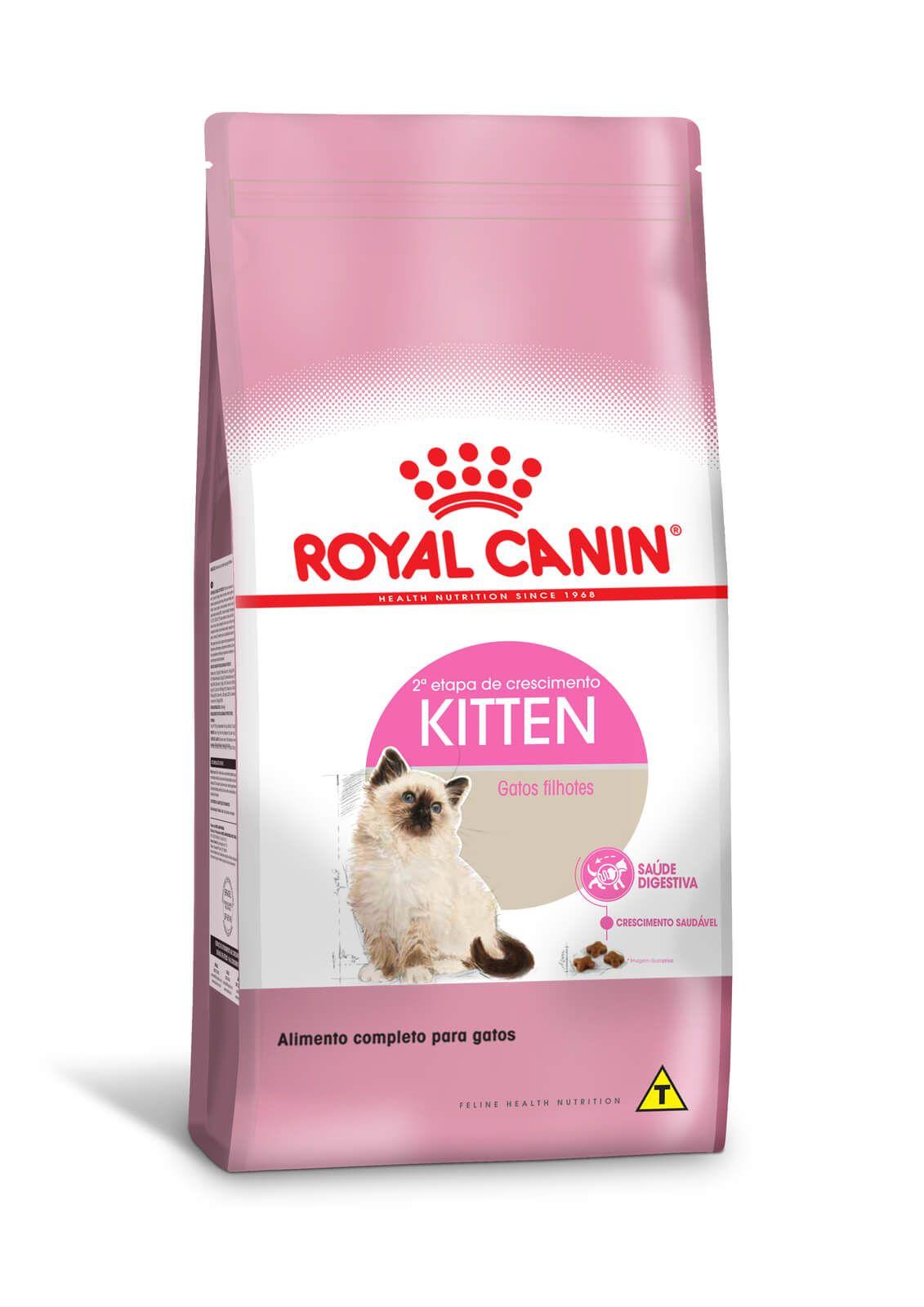 Ração Royal Canin Kitten - Gatos Filhotes