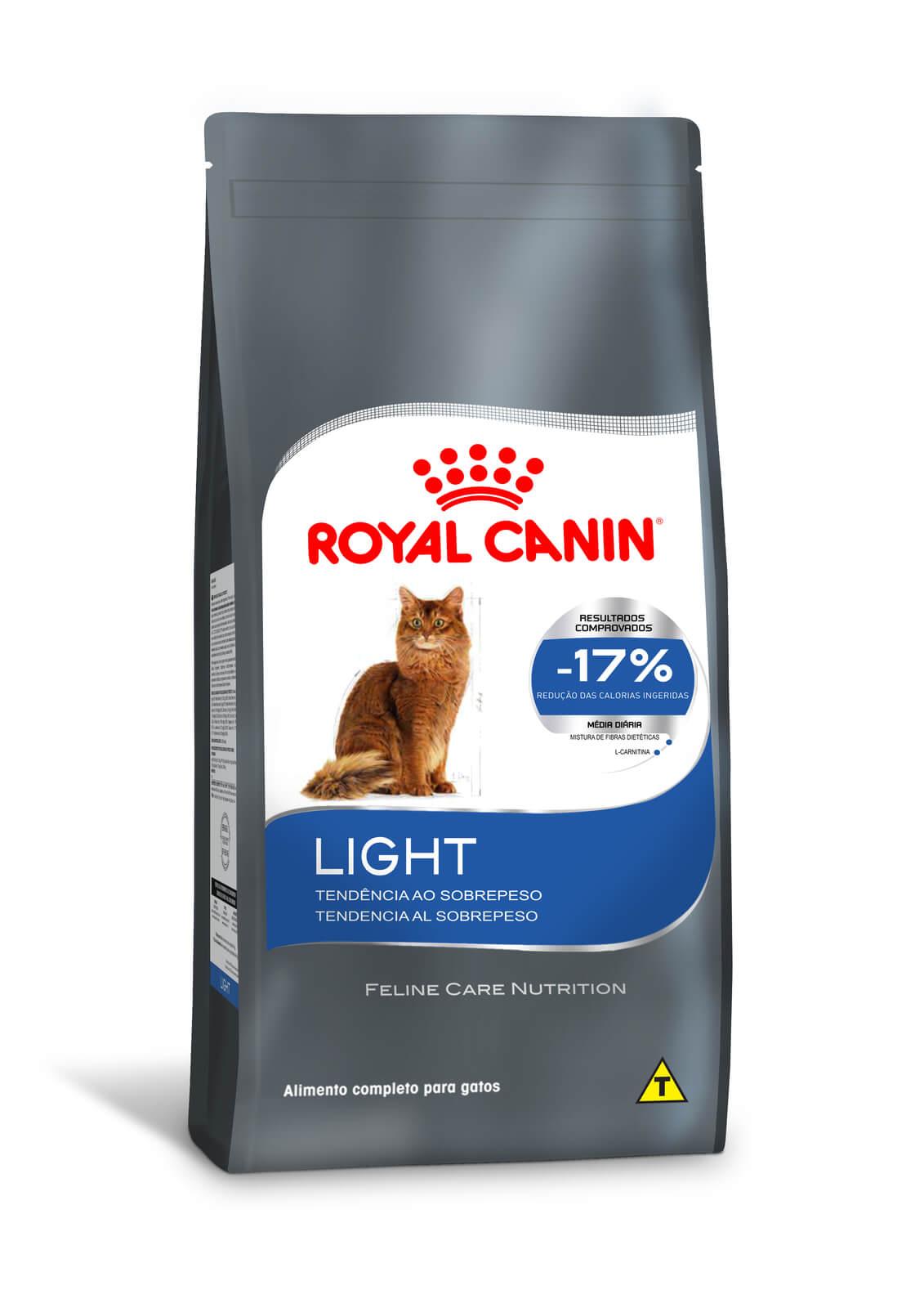 Ração Royal Canin Light - Gatos Adultos