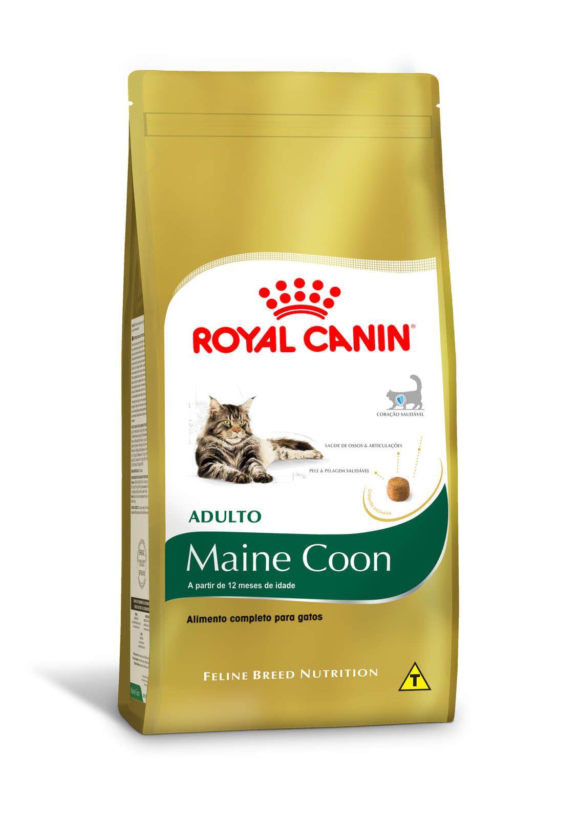 Ração Royal Canin Maine Coon Adulto - 4 kg