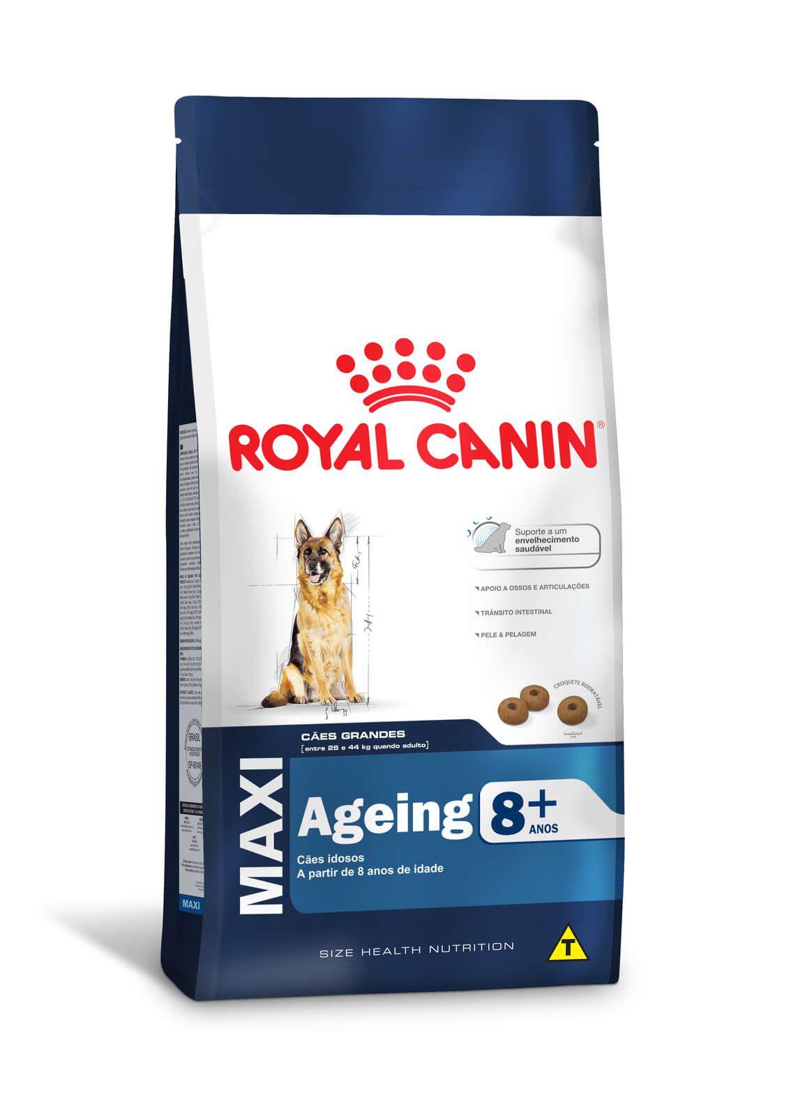 Ração Royal Canin Maxi Ageing 8+ (Raças Grandes) 15kg