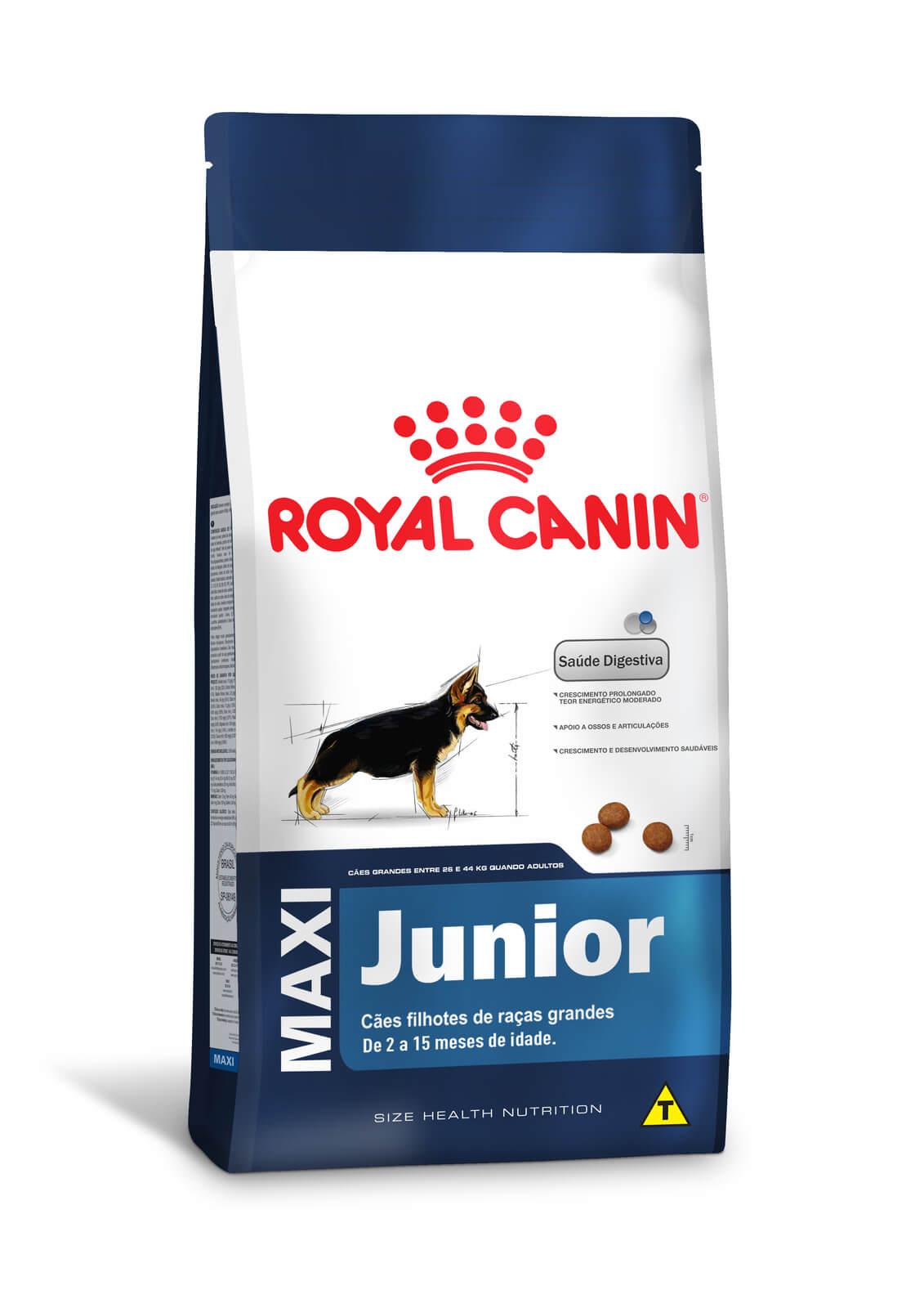 Ração Royal Canin Maxi Junior  (Raças Grandes) 15kg