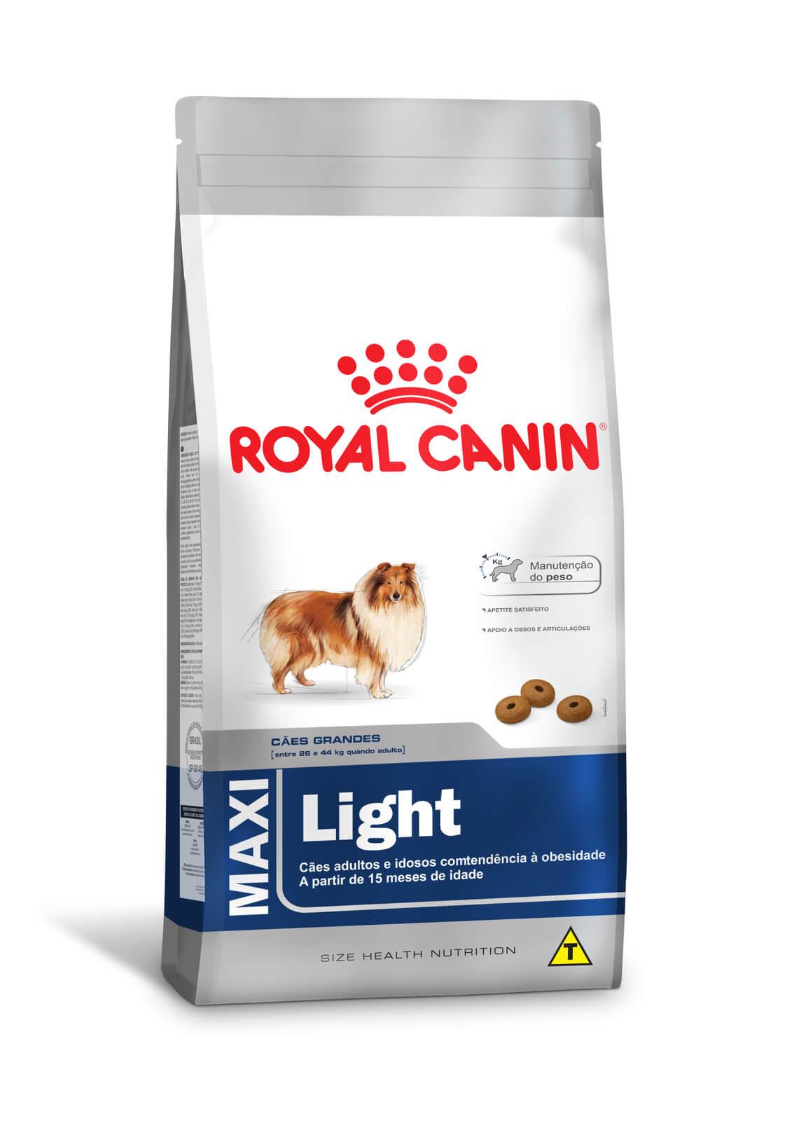 Ração Royal Canin Maxi Light  (Raças Grandes) 15kg