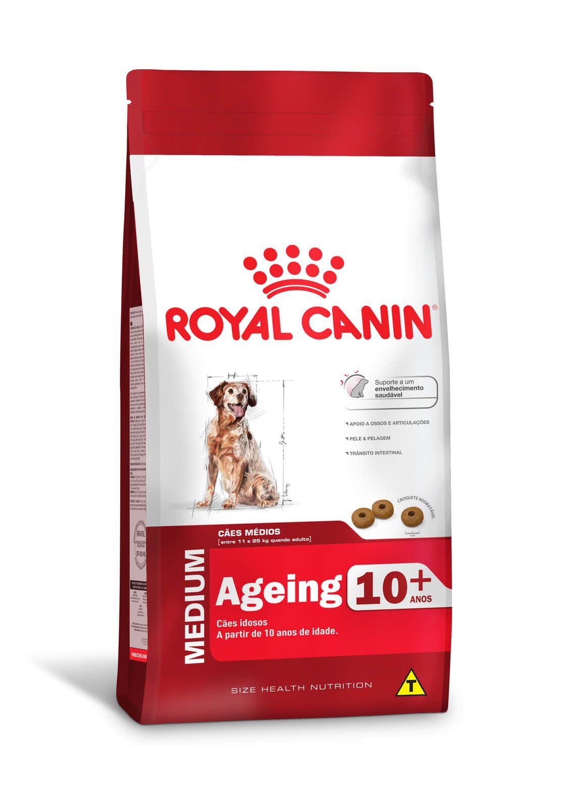 Ração Royal Canin Medium Adult 10+  (Raças Médias)  15kg