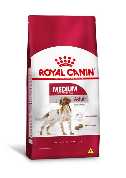 Ração Royal Canin Medium Adult  (Raças Médias) 15kg